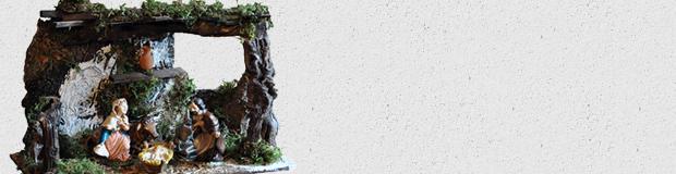 Presepi in cartapesta Ars Nova Rossi